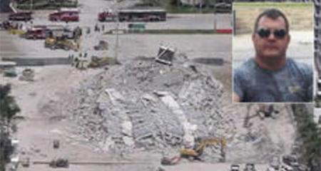 Fallece trabajador herido en derrumbe de edificio en Miami Beach