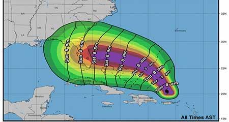 Florida declara el estado de emergencia por el huracán Dorian