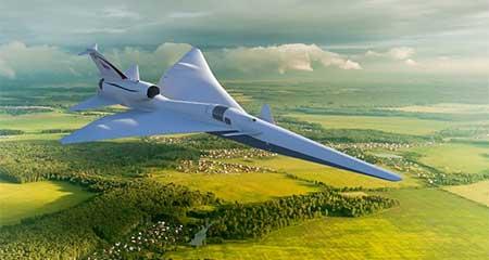 El avión de la NASA: Más cerca de los viajes aéreos supersónicos