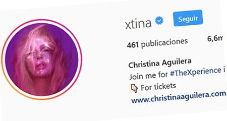 Cristina Aguilera sube foto a Instagram ¡Sin nada por debajo!