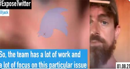 Filtran video del CEO de Twitter afirmando que cerrar la cuenta de Donal Trump es el comienzo
